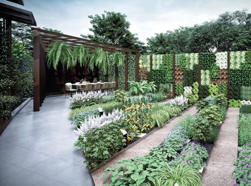 Gourmet Courtyard