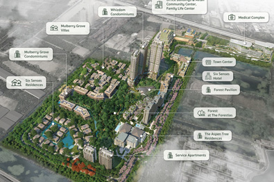The Forestias becomes Thailand's biggest development