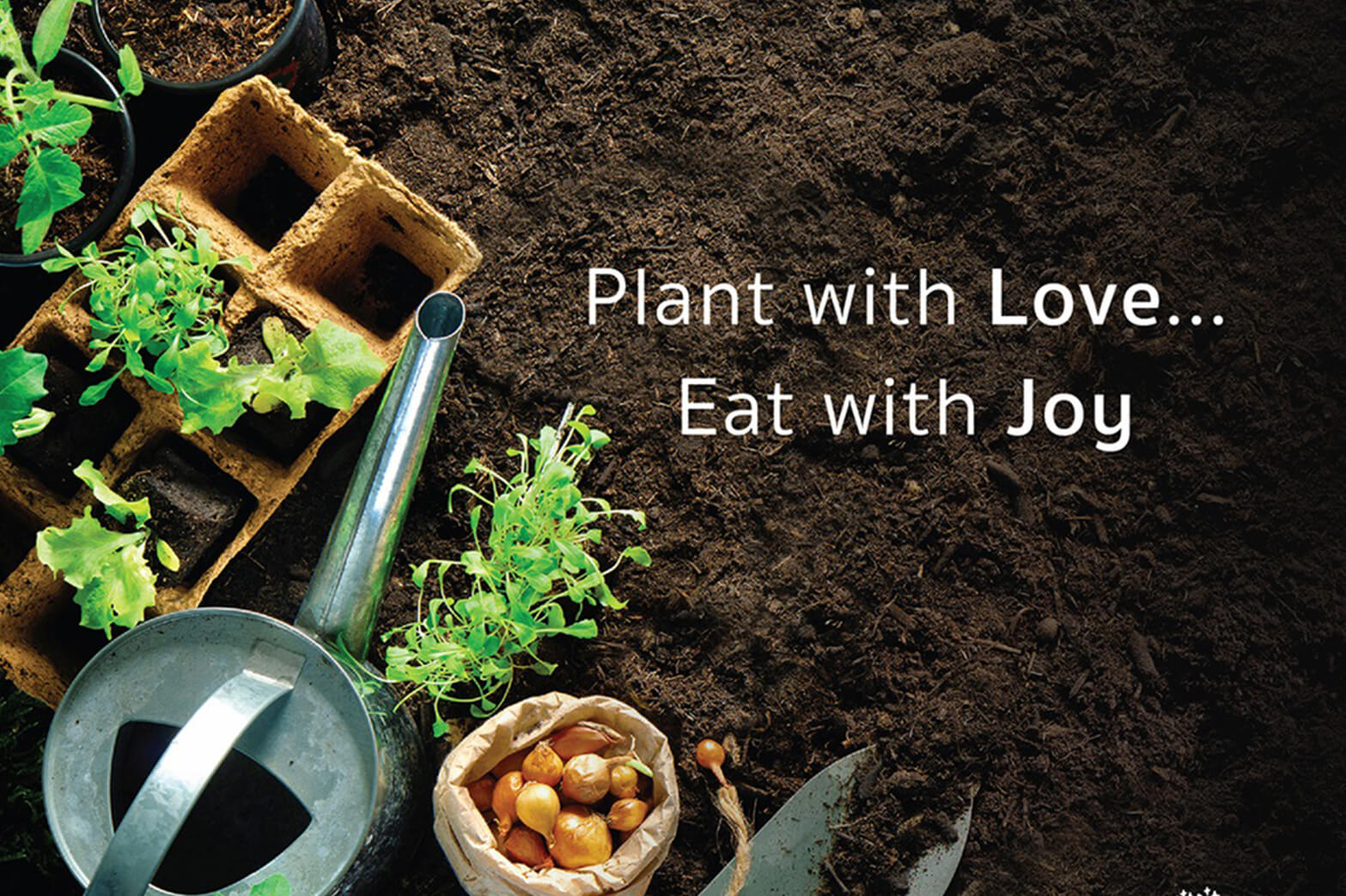 """Plant with Love, Eat with Joy"" with The Forestias"