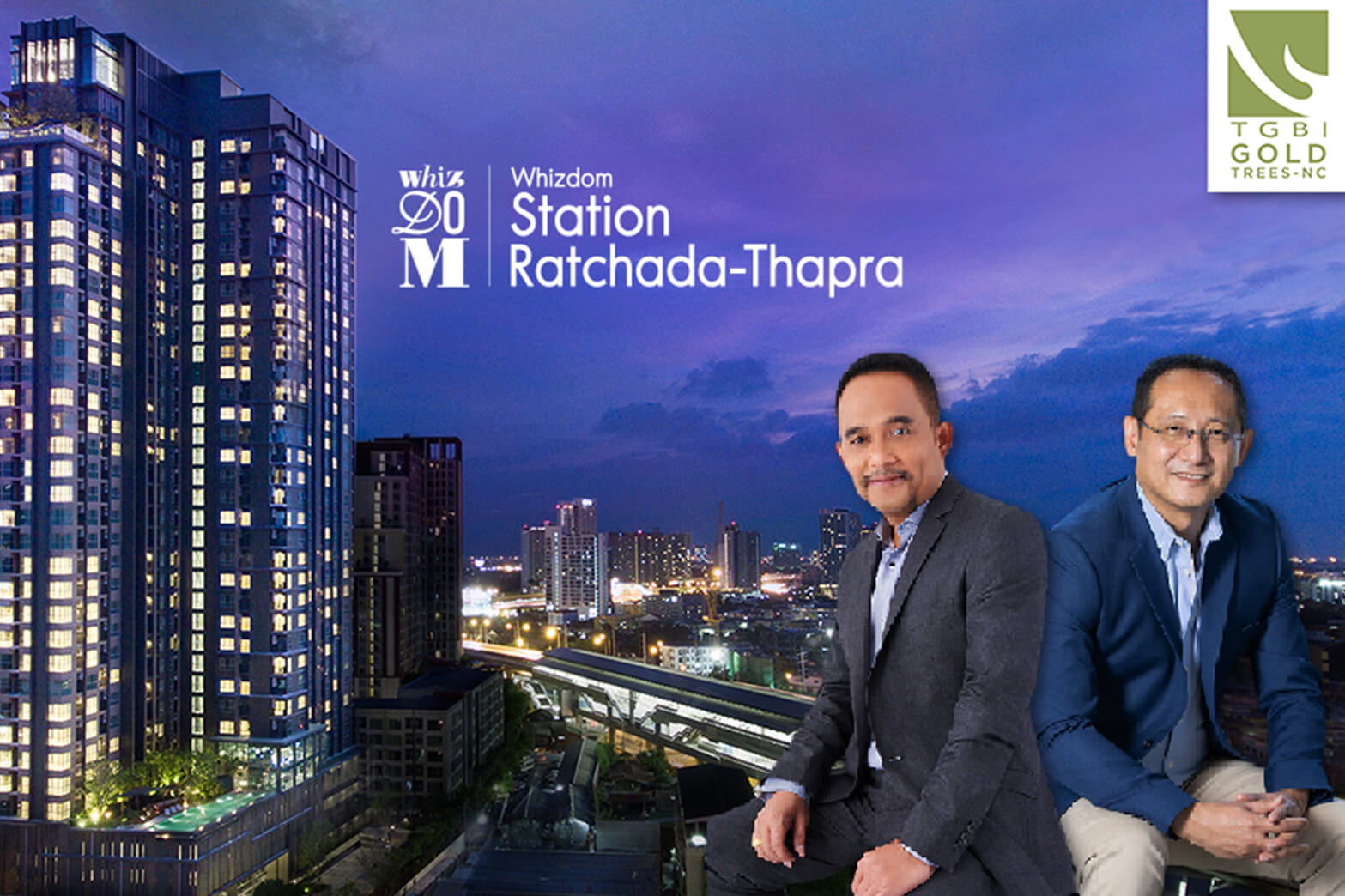 "Whizdom Station Ratchada-Thapra Gains TREES ""Gold"" Green Building Rating"