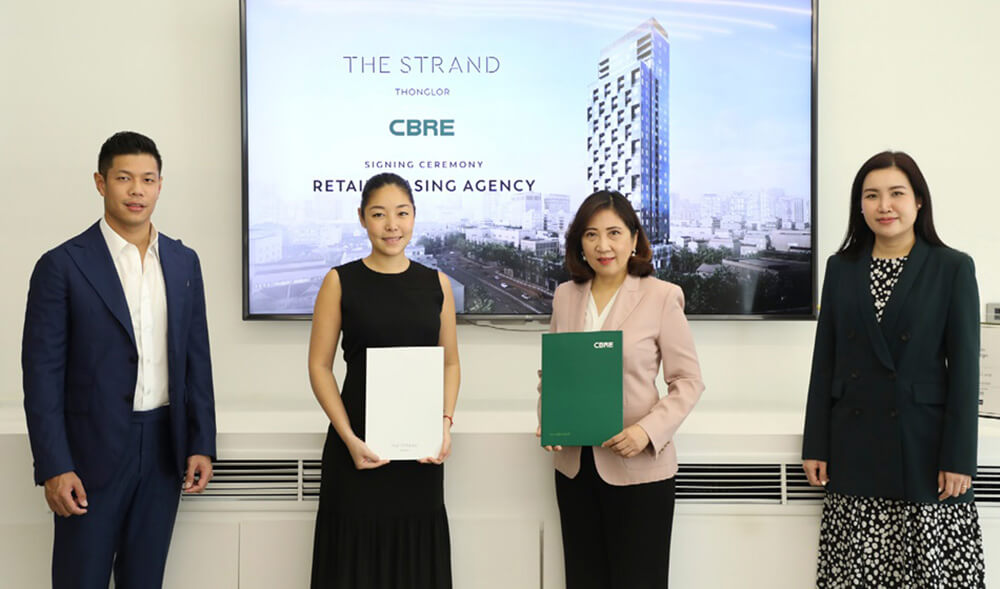 """The Strand Thonglor"" Appoints CBRE as Retail Leasing Agency for Retail Space"