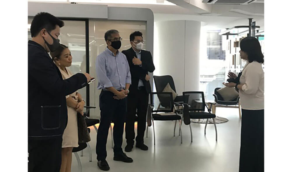 Gaysorn Group Visits RISC to Study WELL Building Standard